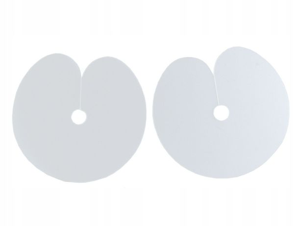 2 x SZABLON OKRĄGŁY Karczew, ochraniacz przedłużanie włosów