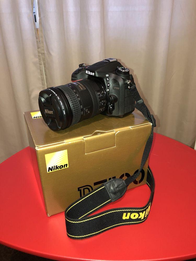 Máquina Nikon D7100