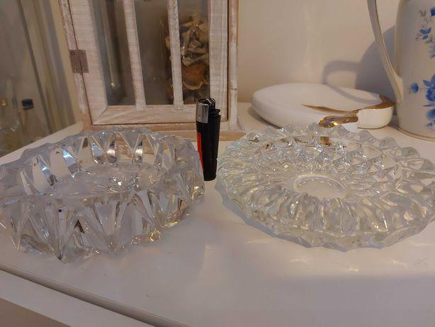 Popielniczki kryształowe