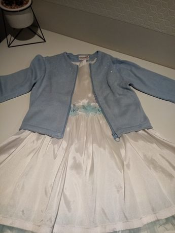 Sukienka komplet coccodrillo 110