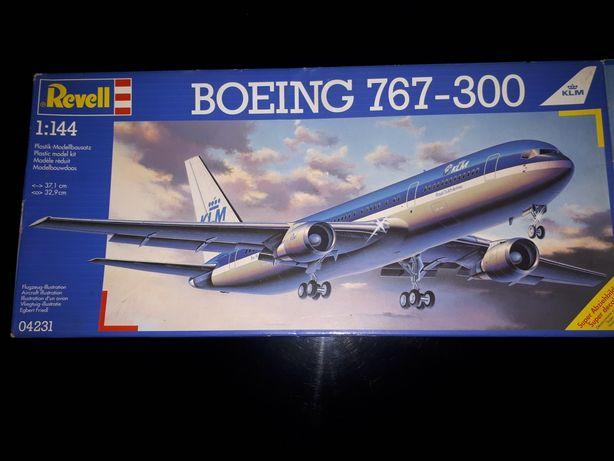Aviao modelismo revell Boeing 767