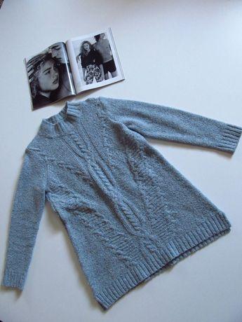 Теплая туника/Удлиненный свитер.