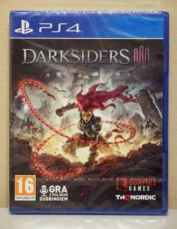 Darksiders 3 gra na Playstation 4 - Nowa, Folia, Polska wersja, PS4 PL
