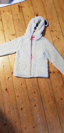 Bluza panda H&M ciepła rozm 116