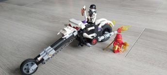 Lego Ninjago Motocykl Czaszki 2259 + Lego Ninjago 30080 GRATIS!!!