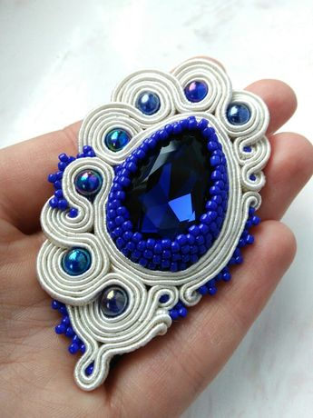 Biżuteria sutasz broszka wisior