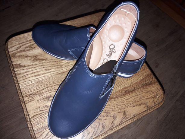 Продам туфли женские кожаные новые