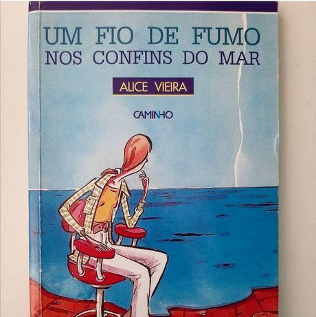 Livros romance/drama: Alice Vieira, Paulo Coelho, Rosa Lobato Faria