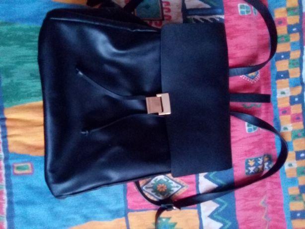 Plecak Zara ze skóry
