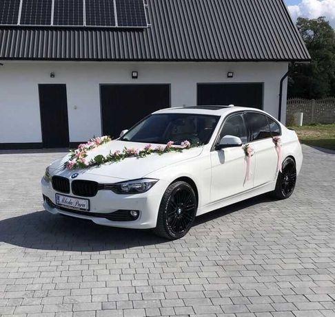 Bmw f30 białe do ślubu! Auto samochód na wesele
