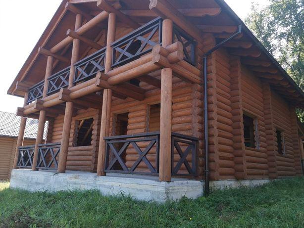 Будинок зі зрубу Раковець