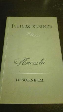 Slowacki. Juliusz Kleiner
