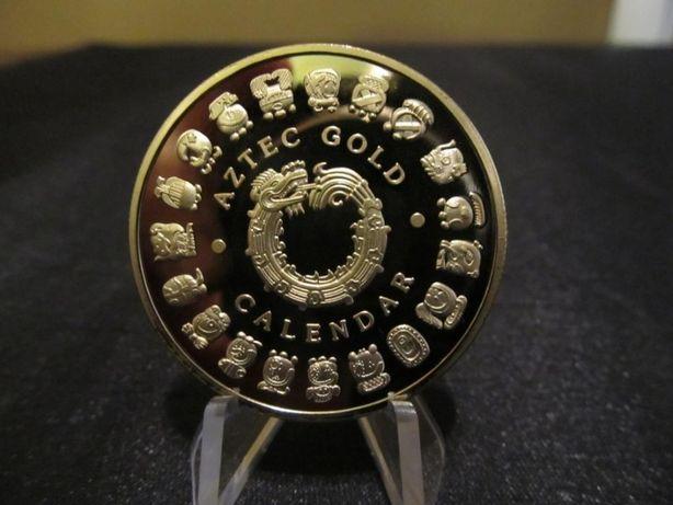 Монета Золото Ацтеков, Календарь Майя