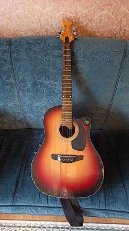Gitara elektro-akustyczna (robiona na zamówienie)
