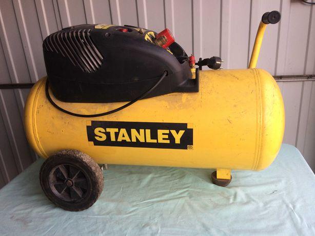 Kompresor Stanley bezolejowy - uszkodzony