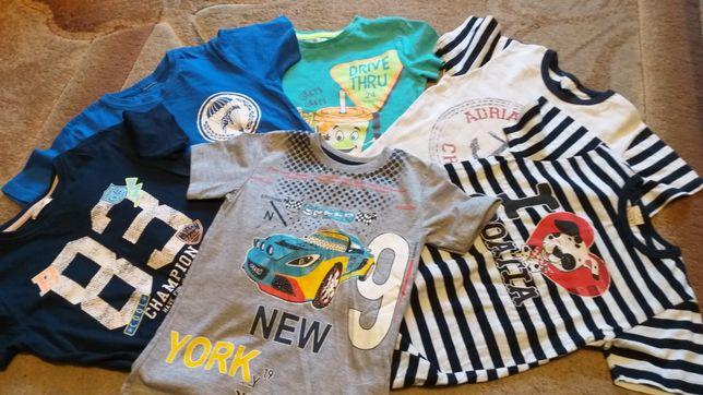 T-shirt Koszulki polo Bluzki na krótki rękaw 104 dla chłopca