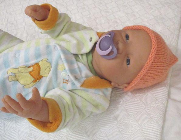 Bebe Reborn menino inteiro Vinyl, Xuxa com íman