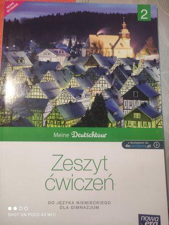 Meine Deutschtour 2 Zeszyt ćwiczeń.