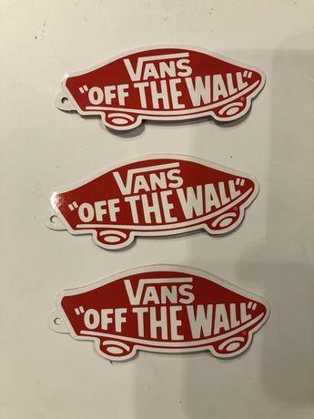 Autocolates Vans
