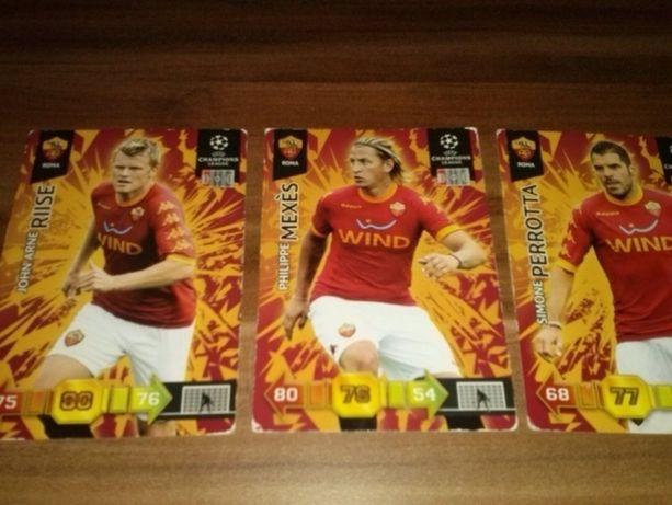 ROMA - karty piłkarskie kolekcjonerskie PANINI - Champions League10/11