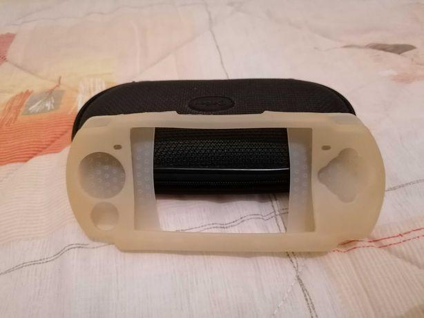 Bolsa PSP + Capa protetora em Silicone