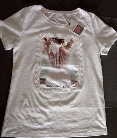 Nowy modny T-shirt koszulka