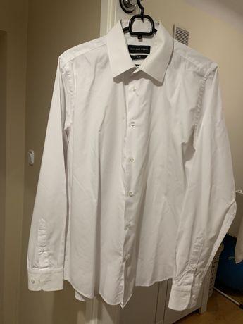 Koszula biała Giacomo Conti
