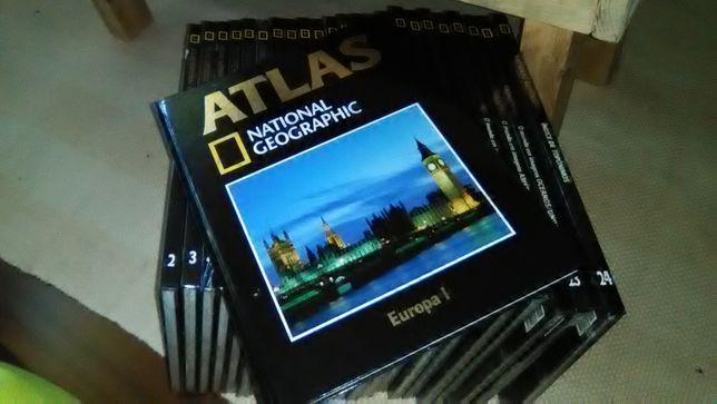 Atlas National Geografhic 24 volumes