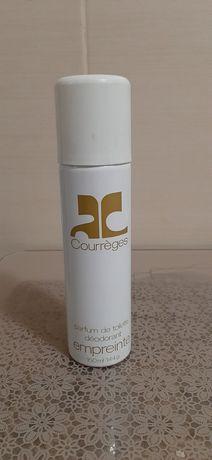 Винтажный дезодорант  Courreges белый (оригинал)Франция. .