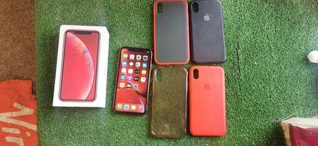 Iphone XR Red 64GB Super Stan + 4x Etui