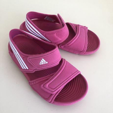 Adidas Altaswim 29 sandały sandałki różowe 17,5cm