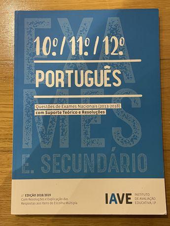 Livro de portugues com exercicioa de exame nacional