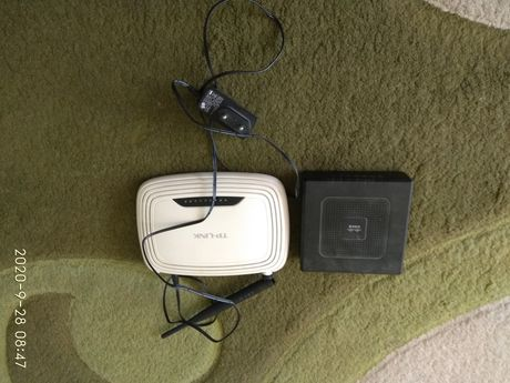 Router TP-Link Ll-WR740N i Linksys WRT54GH