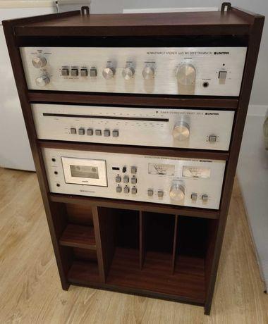 Zestaw Hi-Fi Unitra Diora Trawiata 301S Etiuda 410S Faust 205S szafka