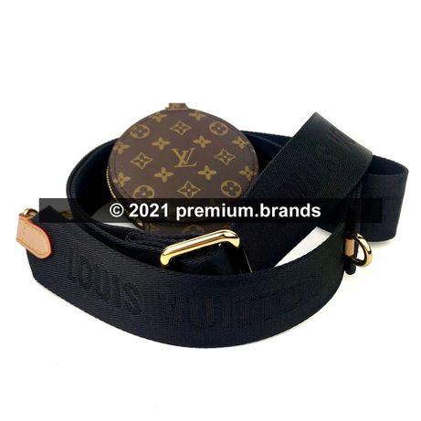 Pasek Louis Vuitton Bandouliere w zestawie z portmonetką