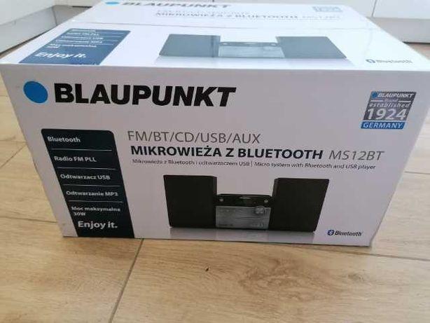 Mikrowieża z bluetooth i odtwarzaczem USB