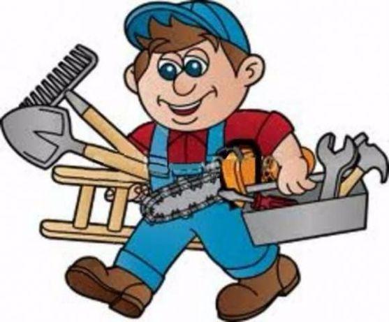Manutenção geral e reparação de casas
