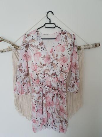 Sukienka w kwiaty nowa rozmiar uniwersalny