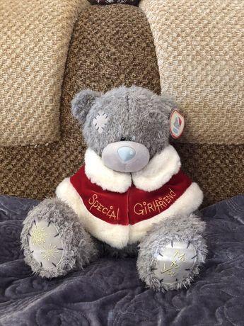 Красивый новогодний медведь me to you для девушки , девочки , подруги