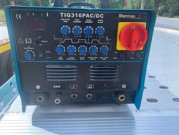 Spawarka TIG Sherman TIG 316P AC/DC 3szt. praktycznie nowe!