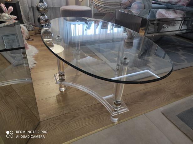 Szklany stolik do kawy