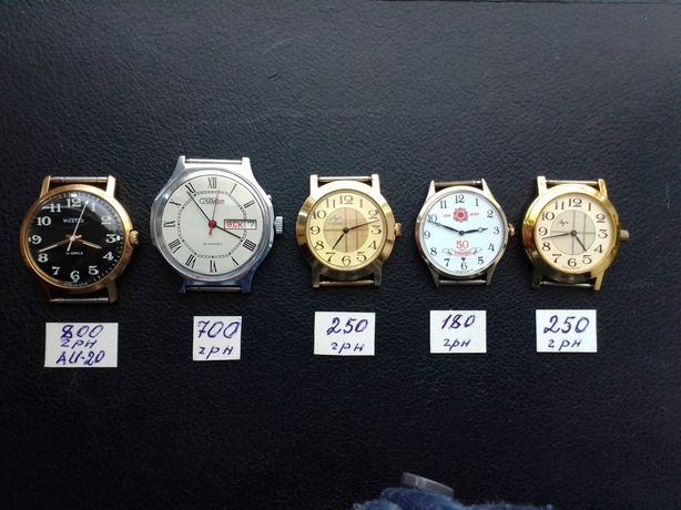 Часы механика муж.
