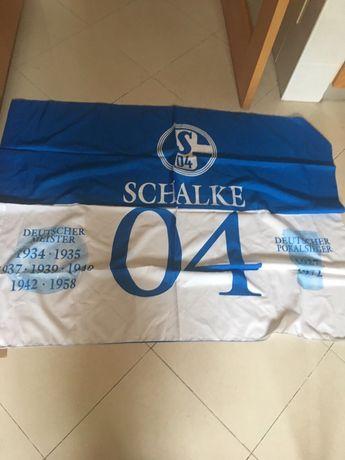 Bandeira do Schalke 04 oficial