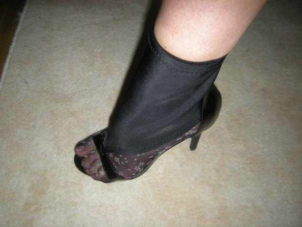 Mega sexy botki sandały open toe