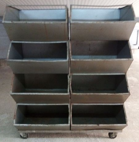 Caixas de Arrumação em Metal
