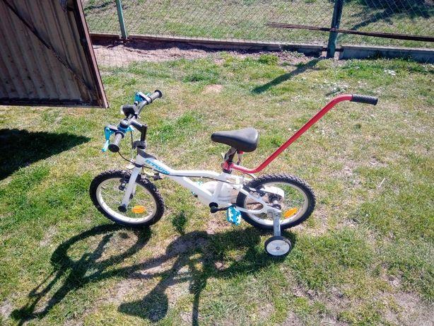 Rower dziecięcy jak nowy+dodatki!