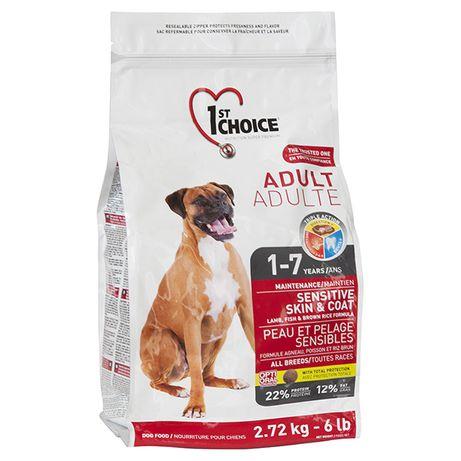 1st Choice Фест Чойс сухой корм для собак с ягненком и рыбой 2 кг