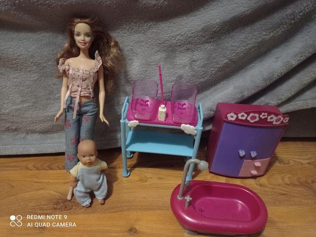 Zestaw Barbie lalka i akcesoria