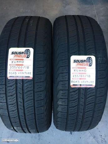 2 pneus semi novos kumho 235/60/18 - Oferta dos portes