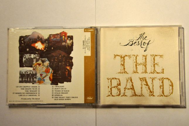 The Band - The Best Of The Band CD